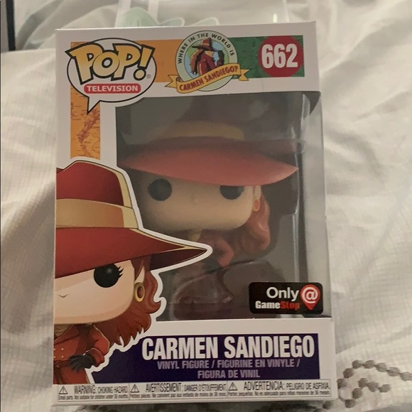 Funko Other - Pops Carmen Sandiego